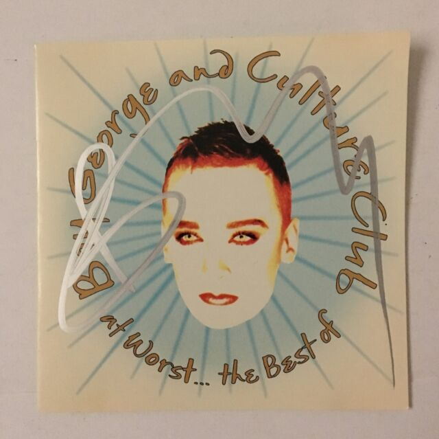 Boy George Signed At Worst    The Best of Boy George and Culture Club CD