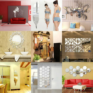 Amazing-DIY-Removable-Home-Room-Wall-Mirror-Stickers-Art-Vinyl-Mural-Decor-Decal