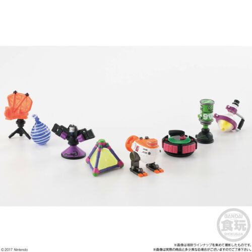 Splatoon 2 Buki Collection Sub Weapon Edition Complete Set BANDAI Japan PS31