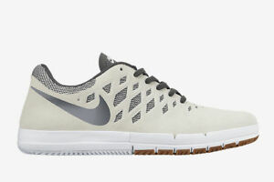 competitive price 8a714 1f323 Image is loading Nike-Free-SB-Sail-Grey-Mens-Skateboarding-Shoes-