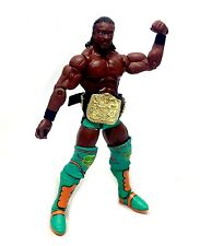 """WWF WWE Wrestling KOFFI KINGSTON with Belt Accessory Mattel Elite 6"""" figure"""