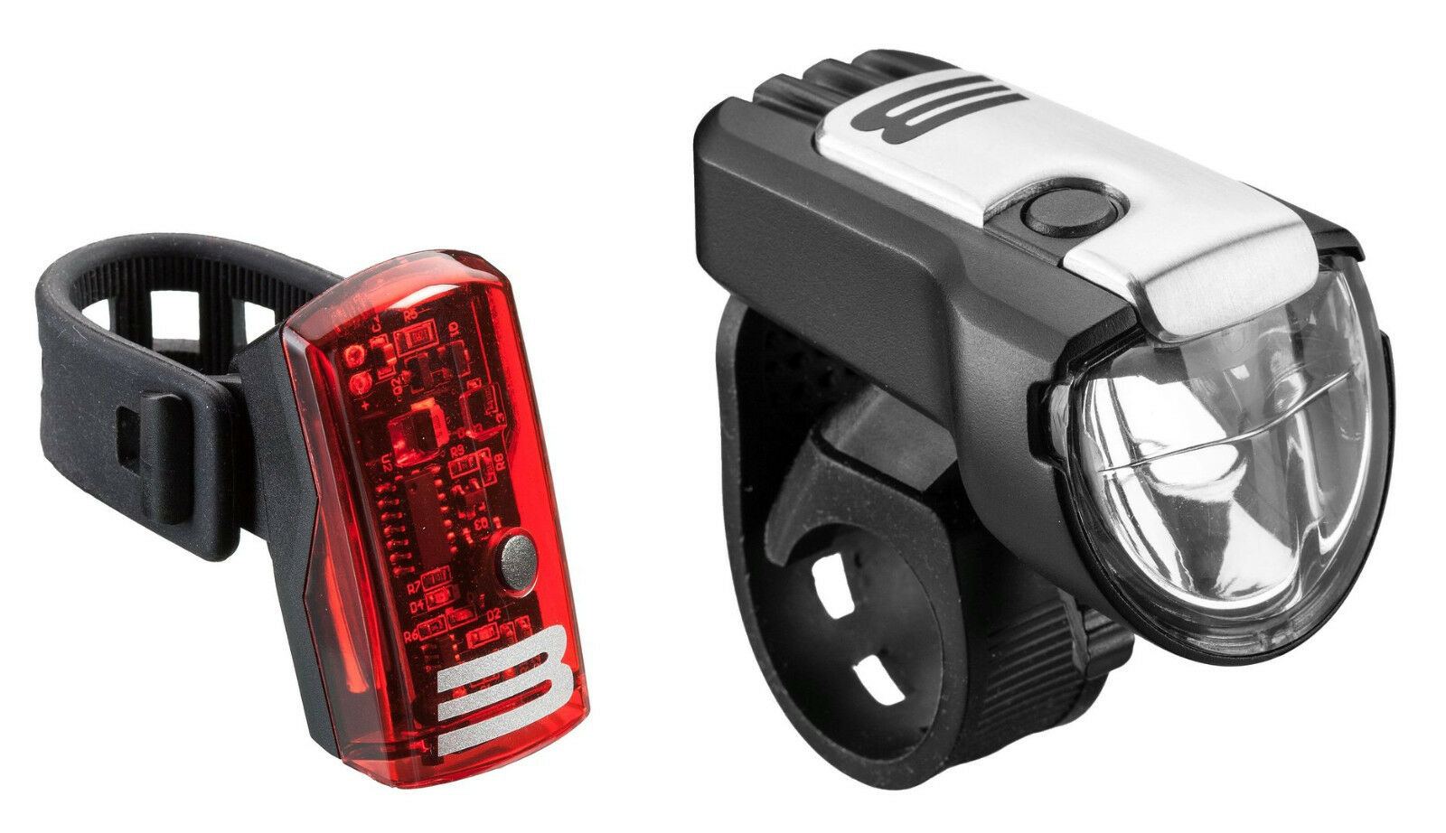 Bulls Lampenset LED Eyes 3.5 Set 35 Lux LED Lipo Akku  WasserBesteändig neu
