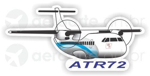 ATR 72 aircraft sticker
