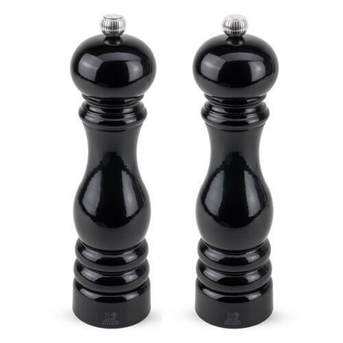 Salzmühle PARIS Duo Set 22 cm schwarz lackiert PEUGEOT Pfeffermühle