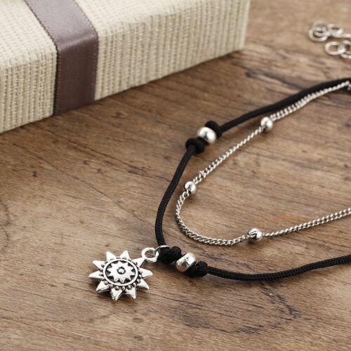 Vintage Anklet Women Beads Bohemian Ankle Bracelet Boho Foot Jewelry SA