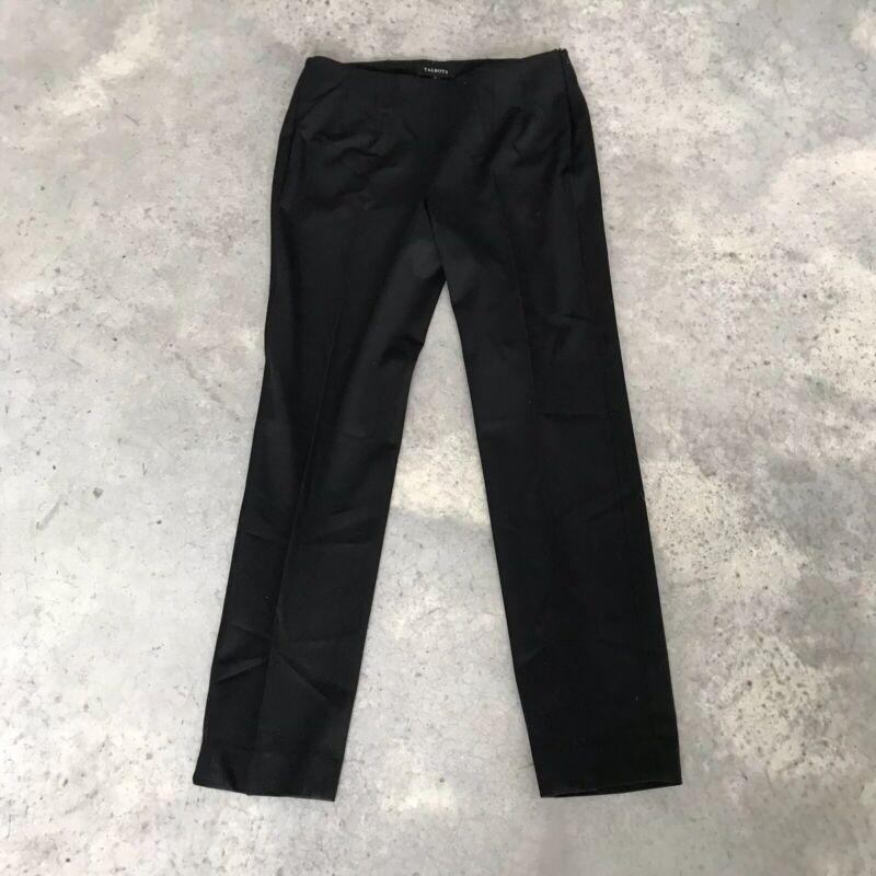Besorgt Talbots Schwarz Hose Careerwear Hosen Damen Kleid Hose (a15) Sz 6 Wohltuend FüR Das Sperma