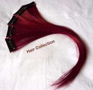 Burgundy-12-034-Human-Hair-Clip-In-Extensions-for-highlights-5pcs
