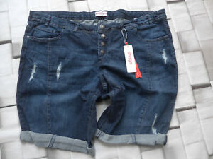 Sheego-Jeans-Pants-short-Blue-Size-40-to-58-plus-Size-169