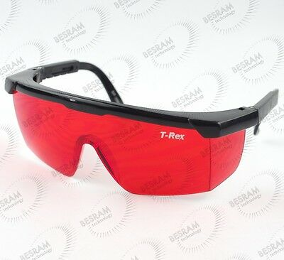 New Protection Goggles Eyewear 405nm Violet 532nm Green Laser Safety Glasses