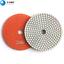 7PCS 4 Inch Diamond Polishing Pads for Wet Granite Stone Marble Concrete Polish