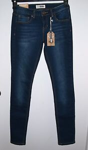 New-Ardene-Size-25x31-Womens-Dark-Wash-Skinny-Jeans