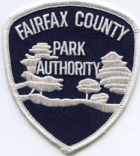 FAIRFAX COUNTY VIRGINIA VA PARK AUTHORITY police PATCH