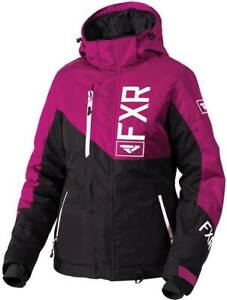 "FXR /""FRESH/"" JACKET SNOWMOBILE COAT REMOVABLE HOOD WINEBERRY SALE! PICK SIZE"