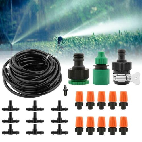 8-40M Micro Drip Self Watering Timer Garden Plant Auto Irrigation Hose System