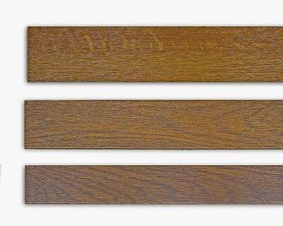 Fensterleiste Mahagoni 40 mm breit 6m lang Flachleiste Abdeckleiste Dekor Leiste farbig
