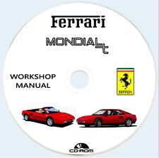 Workshop Manual FERRARI Mondial T e Mondial T Cabriolet,Manuale Officina