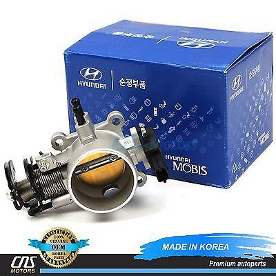 GENUINE Throttle Body for 04-10 Elantra Tiburon Tucson Sportage 2.0L 3510023751