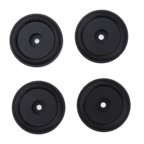 4x 50 15mm Aluminium Isolation Füße Pad Standfuß Für CD Plattenspieler