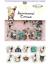 Korea-Diary-Label-Stickers-Cartoon-Cute-Scrapbooking-DIY-Stickers-Tags-Decor 縮圖 22
