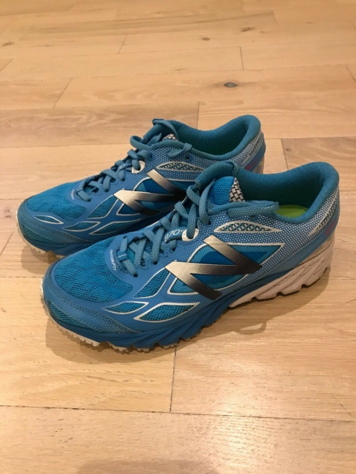 New Balance 870 V4 Women's Running Cross Training shoes Athletic 8 bluee White
