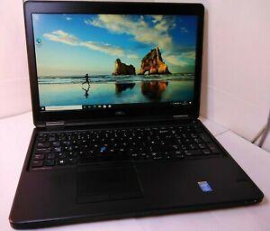 DELL LATITUDE E5550 Intel Core i5-5300U 2.3 Ghz 8GB 500GB HDD Win10 Webcam
