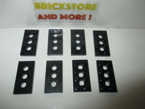 Lego Technic Plate Plaque 2x4 3709 Black//Noir x8 Choose Quantity x2