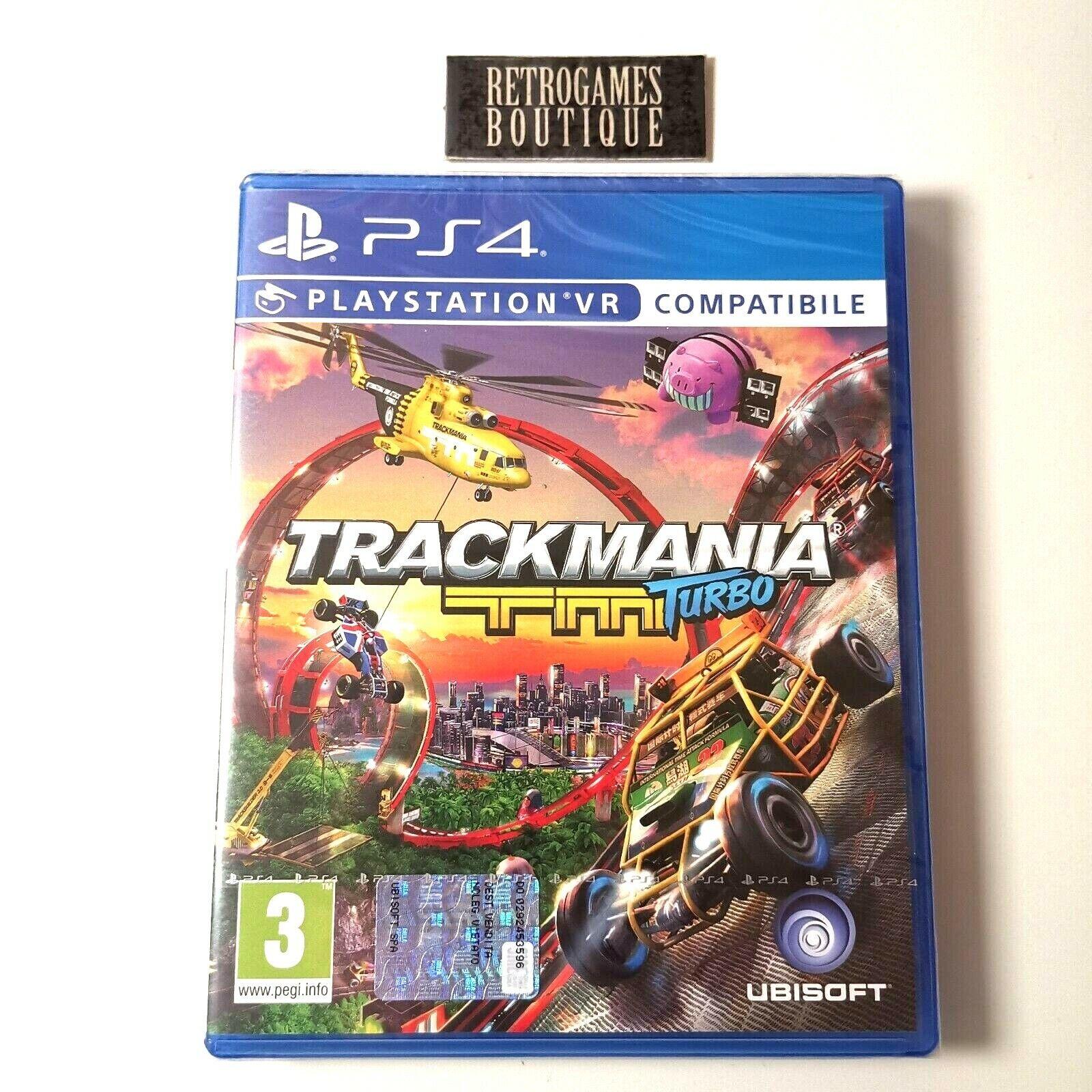 Trackmania Turbo PS4 PLAYSTATION 4 ITALIANO New Sealed