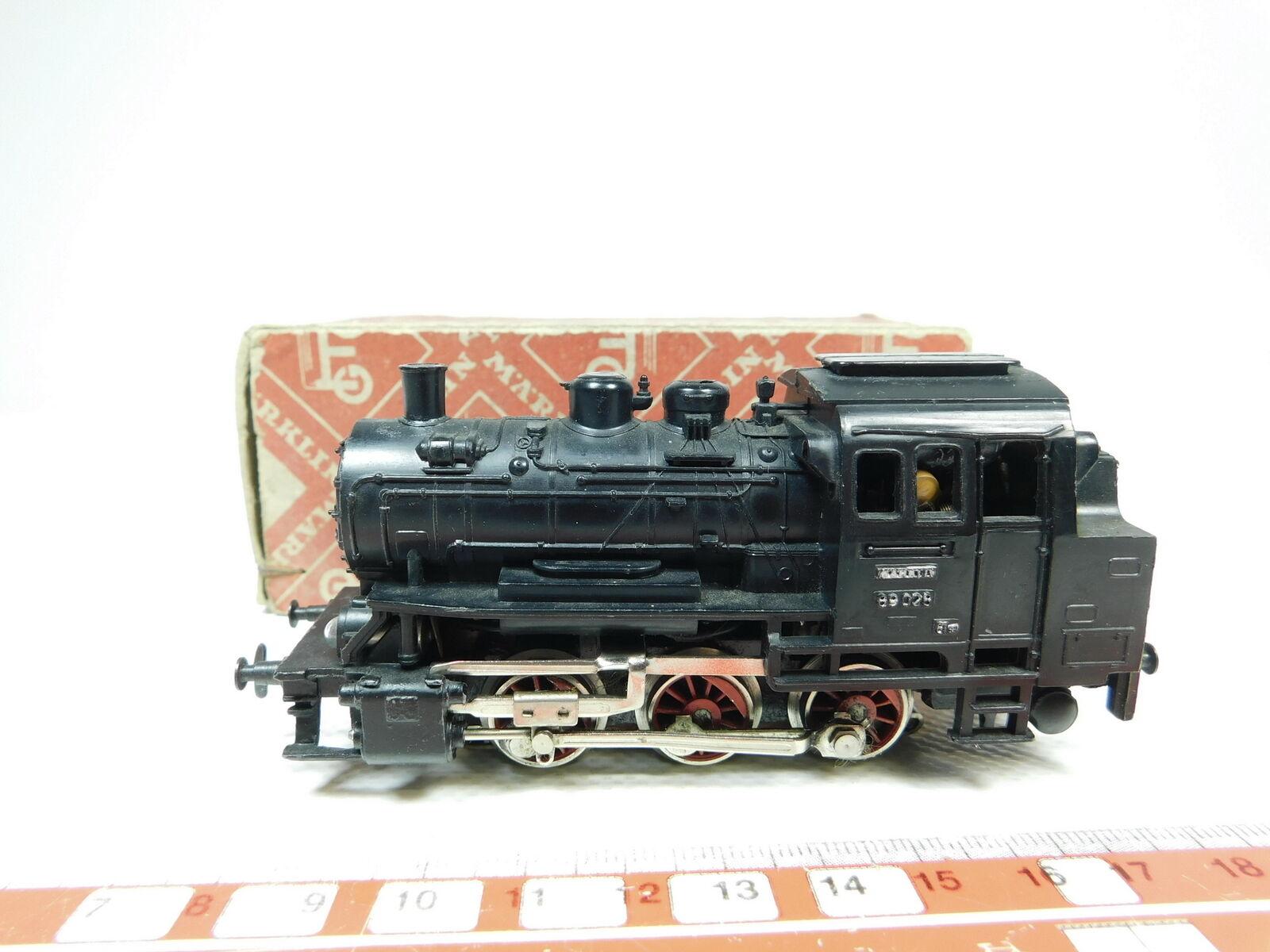 Bh117-0,5     H0/AC 3000 LOCOMOTIVA TENDER/Locomotiva a vapore 89 028 / cm