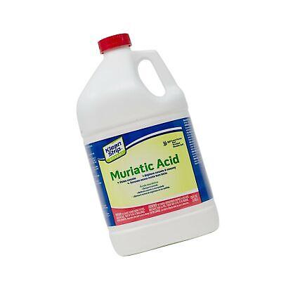 muriatic strip Msds acid klean