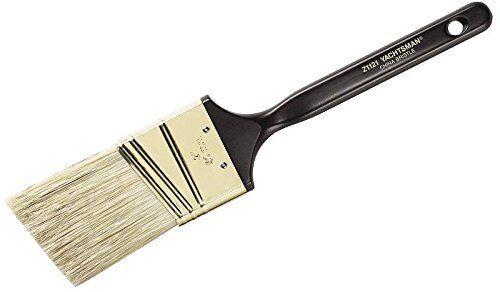 Wooster Brush Z1222-2 White Majestic China Bristle Angle Sash Paintbrush 2 Inch