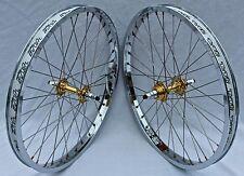 BMX TNT BICYCLE WHEELSET, wheels, SUN RHYNO LITE XL (CHROME), DERRINGER, 20 inch