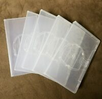 5 Clear Playstation Psp Replacement Umd Cases