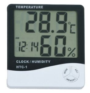 Thermometer-Digital-LCD-Hygrometer-Temperature-Humidity-Meter-Alarm-Clock