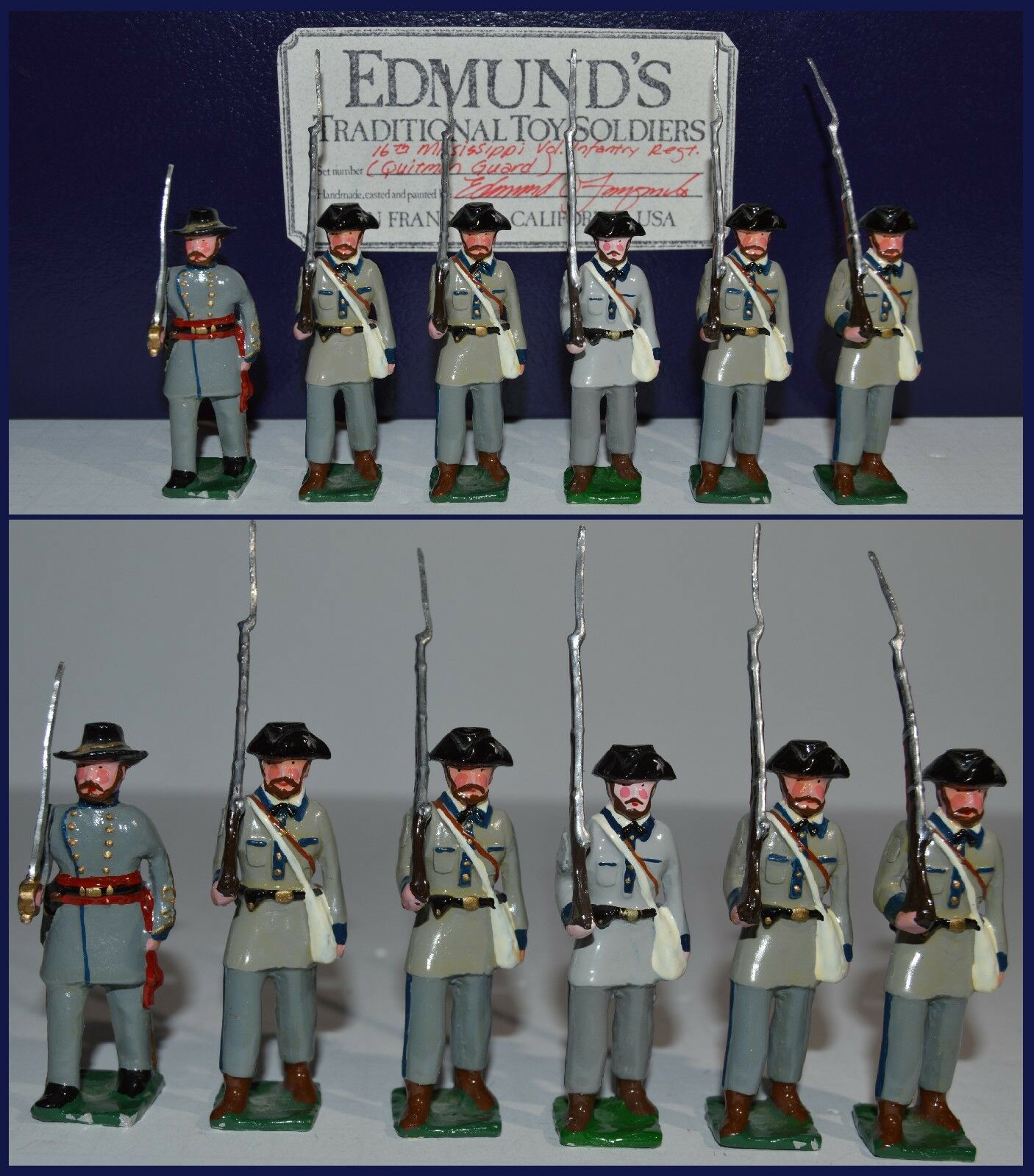 Edmund's Traditional  16th Mississippi Volunteers, Quitman Guard   AA-9686