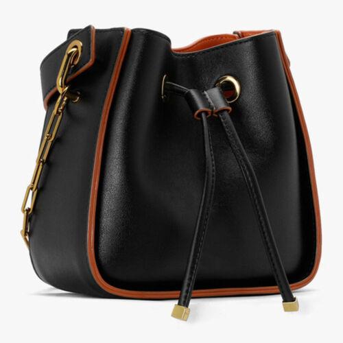 Durable Leather Drawstring Pull String Purse Strap for Bucket Bag Handbag