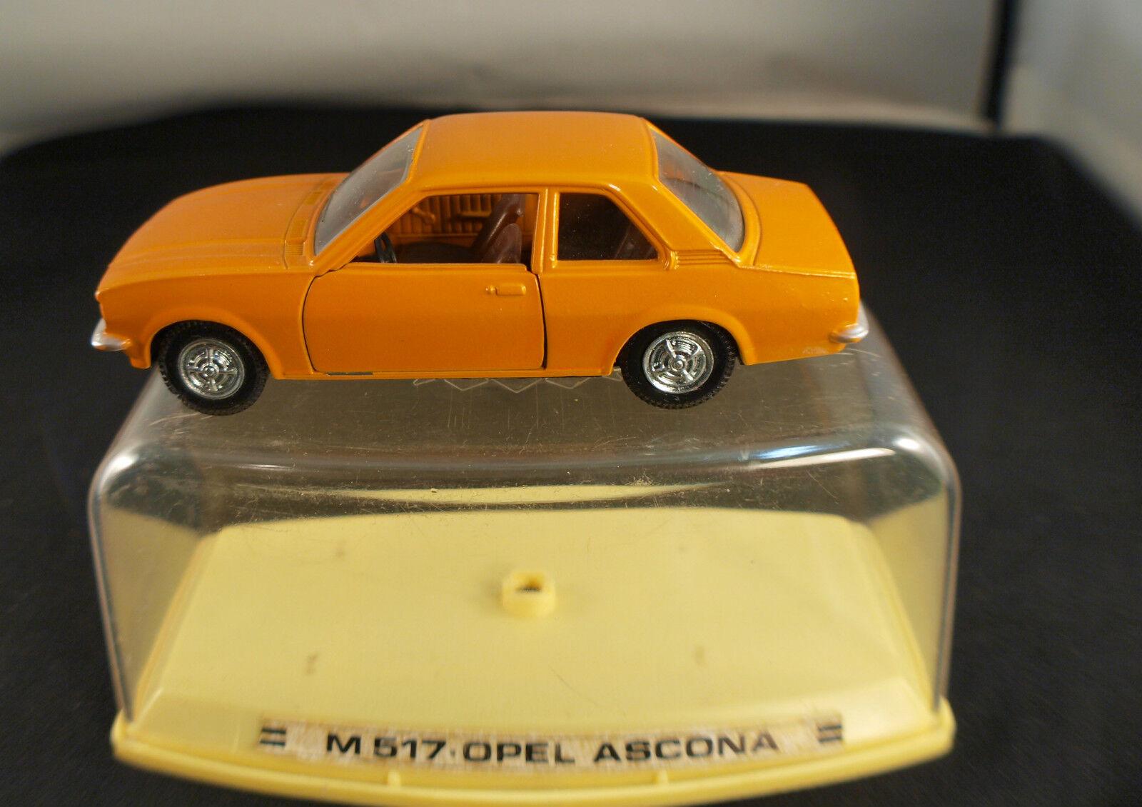 Auto doble m517 opel ascona new inbox in box 1 43 mib
