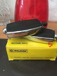 Raleigh-Chopper-Pedals-Original-Mk1-Re-Chromed-Very-Nice-Condition