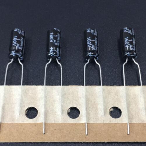 20pcs 160 V 1uF 160 V SUNCON FC 5X11mm condensateur électrolytique SANYO