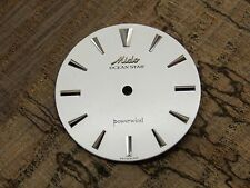 Mido Ocean Star Powerwind Watch Dial Vintage 28.23mm Pearl Silver Arrow Markers