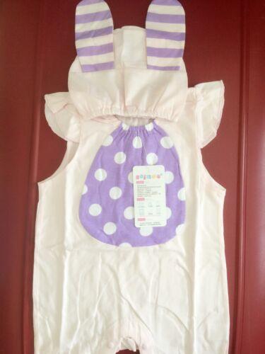 Baby Kids Girl Child Easter Bunny Rabbit Party Costume Romper hat set Prop