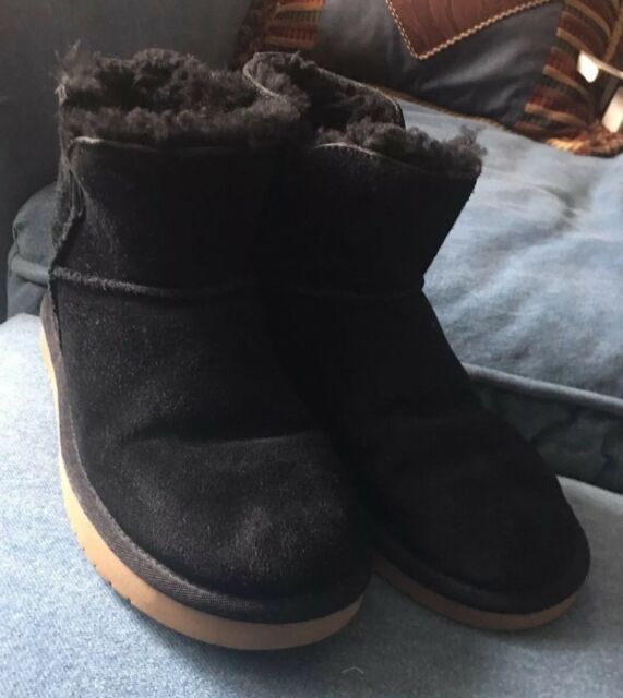 170f4555f5e Koolaburra by UGG Classic Mini Winter Boot Black Women's Sz 6 1015209