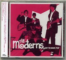 Moderns - Got To Have Pop CD JAPAN PRESS Sweden Mod Power Pop Bruset Docent Död