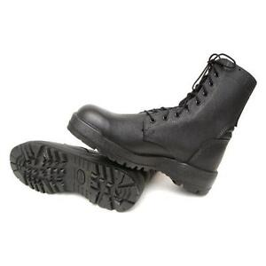 Israeli Combat Boots Black Military Army Surplus Vibram Made In Usa