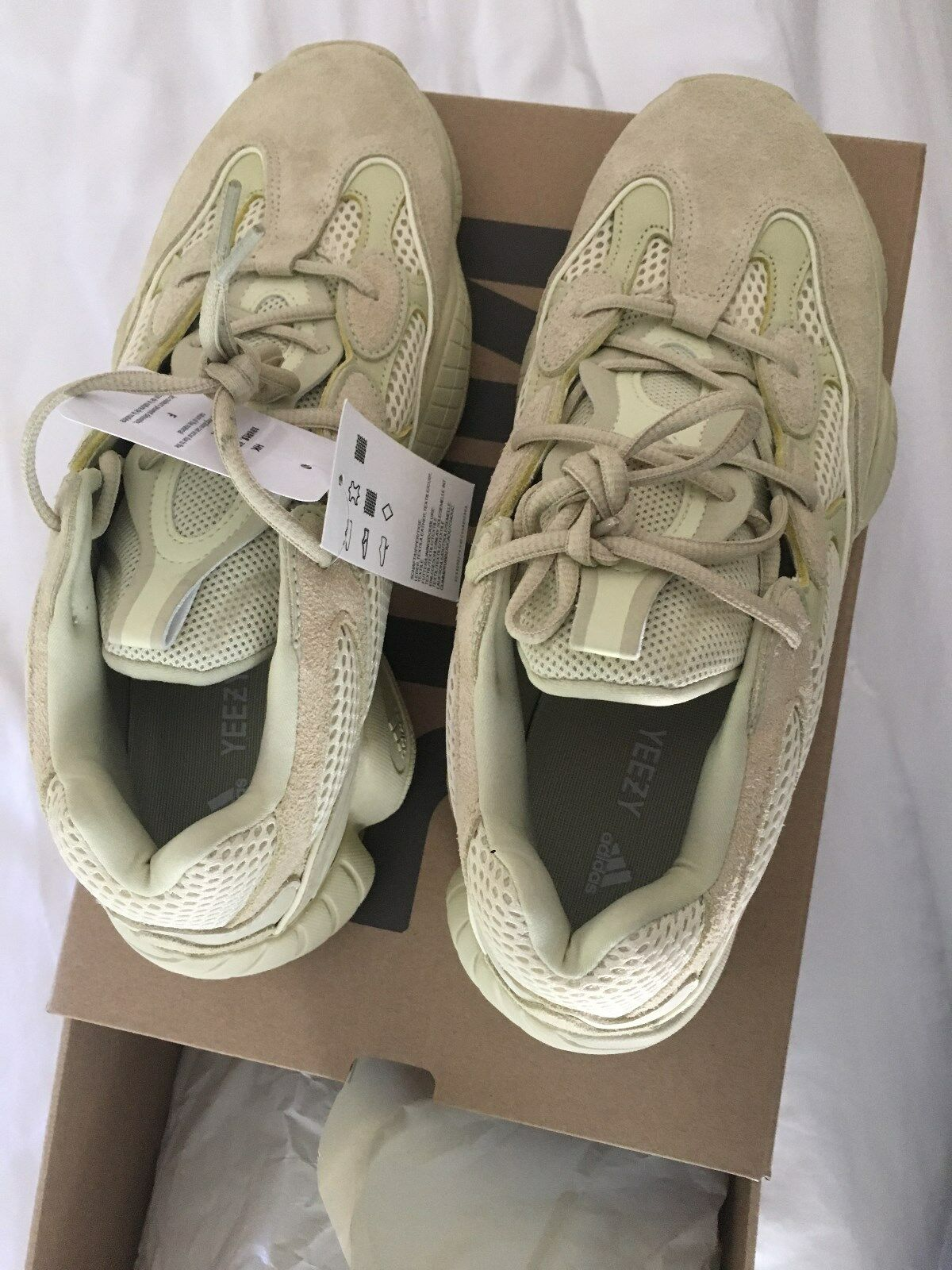 Yeezy Boost 500 Supermoon Yellow - Adidas Size 11.5 - Brand New Deadstock