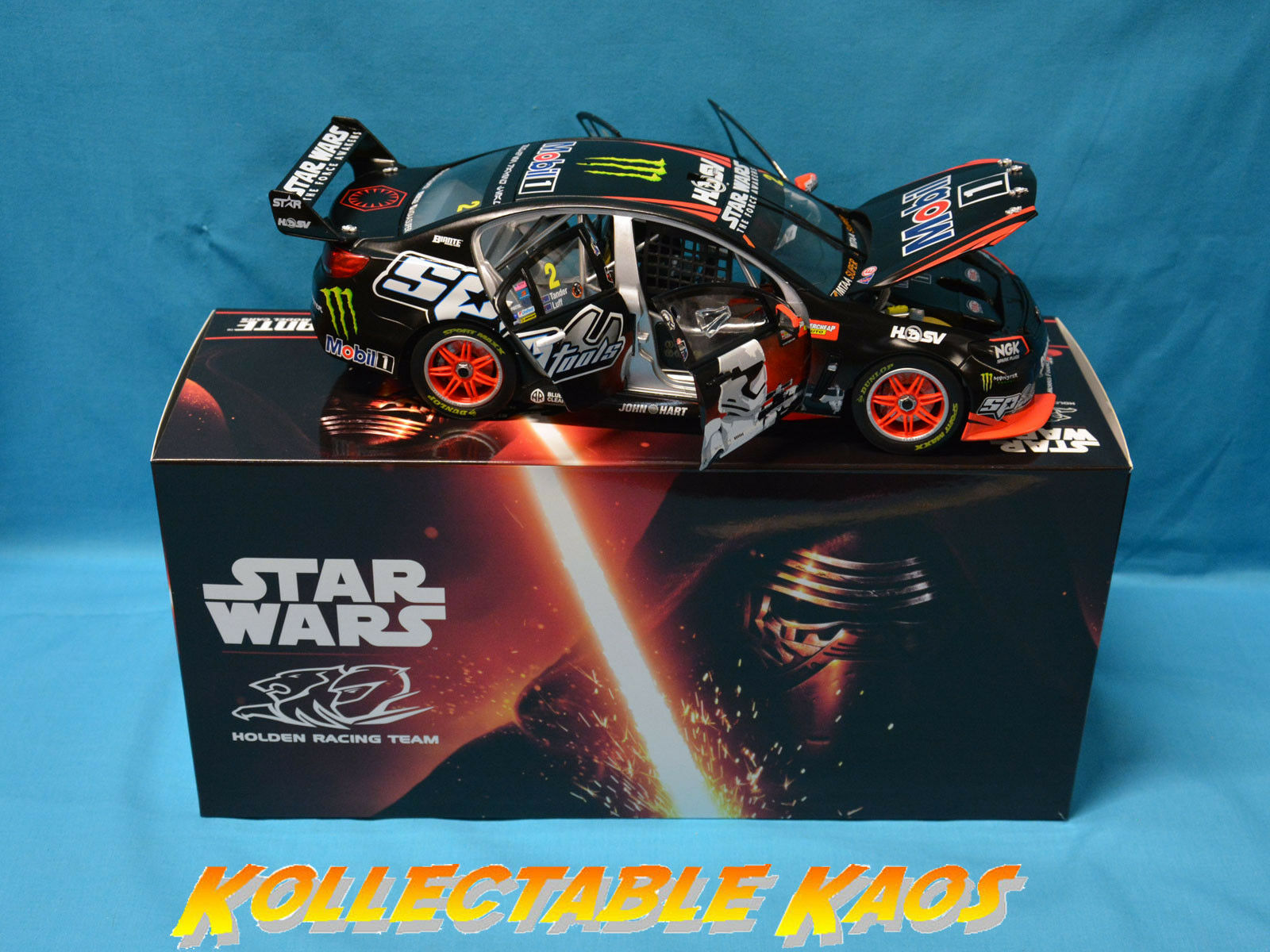 1 18 Biante - 2015 Bathurst - HRT Commodore - Tander Luff - Star Wars Livery