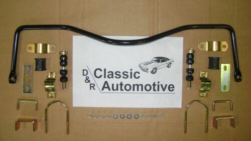 "MADE IN USA Sway Bar Rear w// Install Kit 3//4/"" 67-69 Camaro Firebird 68-79 Nova"