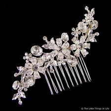 Euphyllia Anastasia Swarovski Crystal Wedding Hair Comb (e2096hs)