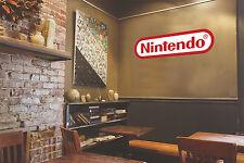 Nintendo Logo New Game Mario Wall Decal Vinyl Sticker