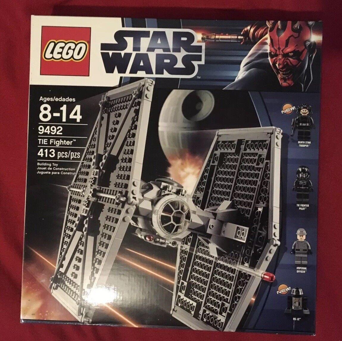 LEGO   estrella guerras - TIE combatiente (9492) nuovo   RETIrosso    consegna gratuita e veloce disponibile