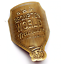 BWC Metallic Head Tube badge pour BROMPTON Raw Laque Brompton Championnat